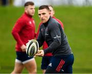5 November 2019; Andrew Conway during a Munster Rugby squad training session at University of Limerick in Limerick. Photo by Matt Browne/Sportsfile
