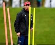 5 November 2019; Munster Senior Coach Stephen Larkham during a Munster Rugby squad training session at University of Limerick in Limerick. Photo by Matt Browne/Sportsfile