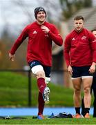 5 November 2019; Peter O'Mahony during a Munster Rugby squad training session at University of Limerick in Limerick. Photo by Matt Browne/Sportsfile