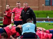 5 November 2019; Munster forwards coach Graham Rowntree during a Munster Rugby squad training session at University of Limerick in Limerick. Photo by Matt Browne/Sportsfile