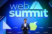 5 November 2019; Bernard Brogan, Co-founder and Chief Commercial Officer, PepTalk, on SportsTrade Stage during the opening day of Web Summit 2019 at the Altice Arena in Lisbon, Portugal. Photo by Stephen McCarthy/Web Summit via Sportsfile