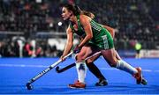 3 November 2019; Lizzie Colvin of Ireland during the FIH Women's Olympic Qualifier match between Ireland and Canada at Energia Park in Dublin. Photo by Brendan Moran/Sportsfile
