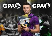 6 November 2019; The Gaelic Players Association's (GPA) Chief Executive Paul Flynn has launched their Student Report 2019 at the Campus Conference in Abbotstown in Dublin. The report highlights the challenges experienced by GPA student-members and provides actionable GPA recommendations to help student-members achieve better-balanced lifestyles so they can thrive on and off the field, Pictured at the Gaelic Players Association Launch Student Report is Wexford hurler Rory O'Connor.    Photo by Matt Browne/Sportsfile