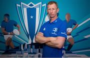 6 November 2019; Leinster head coach Leo Cullen in attendance at the EPCR 2019/20 Season Launch at Principality Stadium in Cardiff, Wales. Photo by Gareth Everitt/Sportsfile