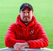 6 November 2019; Rob Herring in attendance at the Ulster Rugby Match Briefing at Kingspan Stadium, Belfast. Photo by John Dickson/Sportsfile