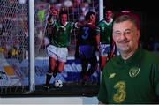 8 November 2019; John Aldridge poses for a portrait after a press conference at the FAI Headquarters in Abbotstown, Dublin. Photo by Matt Browne/Sportsfile