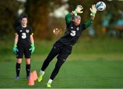 8 November 2019; Grace Moloney during a Republic of Ireland WNT training session at Johnstown House in Enfield, Meath. Photo by Seb Daly/Sportsfile