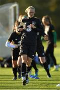 8 November 2019; Diane Caldwell during a Republic of Ireland WNT training session at Johnstown House in Enfield, Meath. Photo by Seb Daly/Sportsfile