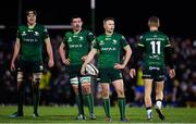 8 November 2019; Connacht players, including Jack Carty, 2nd from right, look on during the Guinness PRO14 Round 6 match between Connacht and Leinster in the Sportsground in Galway. Photo by Brendan Moran/Sportsfile