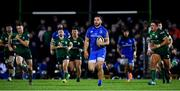 8 November 2019; James Lowe of Leinster on the way to scoring his side's sixth try during the Guinness PRO14 Round 6 match between Connacht and Leinster in the Sportsground in Galway. Photo by Brendan Moran/Sportsfile