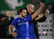 8 November 2019; James Lowe, left, and Devin Toner of Leinster following the Guinness PRO14 Round 6 match between Connacht and Leinster at the Sportsground in Galway. Photo by Ramsey Cardy/Sportsfile