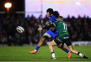 8 November 2019; Joe Tomane of Leinster in action against Stephen Fitzgerald of Connacht during the Guinness PRO14 Round 6 match between Connacht and Leinster at the Sportsground in Galway. Photo by Ramsey Cardy/Sportsfile