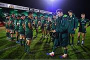8 November 2019; Connacht players after the Guinness PRO14 Round 6 match between Connacht and Leinster in the Sportsground in Galway. Photo by Brendan Moran/Sportsfile