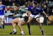 30 October 2019; Kevin Cassidy of Gaoth Dobhair in action against Eoin McGettigan of Naomh Conaill during the Donegal County Senior Club Football Championship Final 2nd Replay match between Gaoth Dobhair and Naomh Conaill at Mac Cumhaill Park in Ballybofey, Donegal. Photo by Oliver McVeigh/Sportsfile
