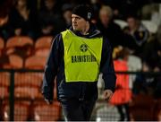 2 November 2019; Clontibret Manager John McEntee during the Ulster GAA Football Senior Club Championship Quarter-Final match between Crossmaglen Rangers and Clontibret O'Neills at Athletic Grounds in Armagh. Photo by Oliver McVeigh/Sportsfile