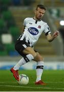 8 November 2019; Cameron Dummigan of Dundalk during the Unite the Union Champions Cup first leg match between Linfield and Dundalk at the National Football Stadium at Windsor Park in Belfast. Photo by Oliver McVeigh/Sportsfile