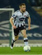 8 November 2019; Seán Hoare of Dundalk during the Unite the Union Champions Cup first leg match between Linfield and Dundalk at the National Football Stadium at Windsor Park in Belfast. Photo by Oliver McVeigh/Sportsfile