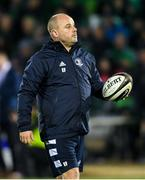 8 November 2019; Leinster kicking coach and lead performance analyst Emmet Farrell ahead of the Guinness PRO14 Round 6 match between Connacht and Leinster at the Sportsground in Galway. Photo by Ramsey Cardy/Sportsfile