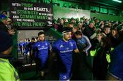 8 November 2019; Max Deegan of Leinster ahead of the Guinness PRO14 Round 6 match between Connacht and Leinster at the Sportsground in Galway. Photo by Ramsey Cardy/Sportsfile