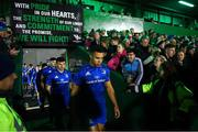 8 November 2019; Adam Byrne of Leinster ahead of the Guinness PRO14 Round 6 match between Connacht and Leinster at the Sportsground in Galway. Photo by Ramsey Cardy/Sportsfile