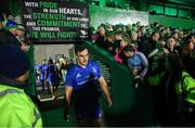 8 November 2019; Rónan Kelleher of Leinster ahead of the Guinness PRO14 Round 6 match between Connacht and Leinster at the Sportsground in Galway. Photo by Ramsey Cardy/Sportsfile