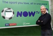 10 November 2019; Former Republic of Ireland International football player Stephen Hunt in attendance at the launch of the Sports Extra Pass on NOW TV in Dundrum Town Centre on Saturday. The Sports Extra Pass means sports fans can now watch all the action on BT Sport and Premier Sports, including UEFA Champions League, Champions Cup Rugby and Premier League 3pm kick offs, all without a contract. For more information go to www.nowtv.com/ie. Photo by Matt Browne/Sportsfile