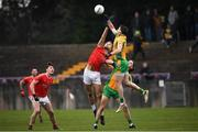 10 November 2019; Ronan Steede of Corofin in action against Jason Gibbons of Ballintubber St Enda's during the AIB Connacht GAA Football Senior Club Football Championship Semi-Final match between Corofin and Ballintubber St Enda's at Tuam Stadium in Tuam, Galway. Photo by Ramsey Cardy/Sportsfile