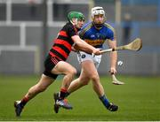 10 November 2019; Cian Lynch of Patrickswell in action against Conor Sheahan of Ballygunner during the AIB Munster GAA Hurling Senior Club Championship Semi-Final match between Patrickswell and Ballygunner at Walsh Park in Waterford. Photo by Seb Daly/Sportsfile