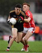 10 November 2019; Tony Brosnan of Dr. Crokes in action against Niall Donohue of East Kerry during the Kerry County Senior Club Football Championship Final match between East Kerry and Dr. Crokes at Austin Stack Park in Tralee, Kerry. Photo by Brendan Moran/Sportsfile