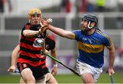 10 November 2019; Mark Carmody of Patrickswell in action against Peter Hogan of Ballygunner during the AIB Munster GAA Hurling Senior Club Championship Semi-Final match between Patrickswell and Ballygunner at Walsh Park in Waterford. Photo by Seb Daly/Sportsfile