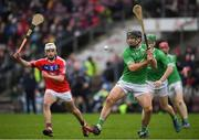 10 November 2019; David Collins of Liam Mellows in action against Oisin Flannery of St Thomas' during the Galway County Senior Club Hurling Championship Final match between Liam Mellows and St Thomas' at Pearse Stadium in Galway. Photo by Harry Murphy/Sportsfile