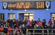 10 November 2019; A general view of supporters during the All-Ireland Ladies Football Senior Club Championship Semi-Final match between Kilkerrin - Clonberne and Foxrock - Cabinteely at the Connacht GAA Centre of Excellence in Claremorris, Co Mayo. Photo by Piaras Ó Mídheach/Sportsfile