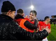 10 November 2019; David Clifford of East Kerry is congratulated by fans after the Kerry County Senior Club Football Championship Final match between East Kerry and Dr. Crokes at Austin Stack Park in Tralee, Kerry. Photo by Brendan Moran/Sportsfile