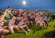 10 November 2019; The Slaughtneil team celebrate after winning the Ulster GAA Hurling Senior Club Championship Final match between Slaughtneil and Dunloy at Páirc Esler, Newry, Co Down. Photo by Philip Fitzpatrick/Sportsfile