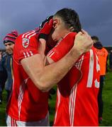 10 November 2019; David Clifford, left, and Evan Cronin of East Kerry celebrate after the Kerry County Senior Club Football Championship Final match between East Kerry and Dr. Crokes at Austin Stack Park in Tralee, Kerry. Photo by Brendan Moran/Sportsfile
