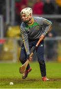 10 November 2019; Ryan Elliott of Dunloy during the Ulster GAA Hurling Senior Club Championship Final match between Slaughtneil and Dunloy at Páirc Esler, Newry, Co Down. Photo by Philip Fitzpatrick/Sportsfile
