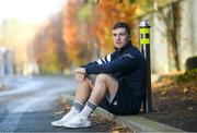 11 November 2019; Luke McGrath poses for a portrait at a Leinster Rugby press conference at Leinster Rugby Headquarters in UCD, Dublin. Photo by Ramsey Cardy/Sportsfile