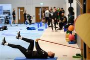11 November 2019; James McClean during a gym session prior to a Republic of Ireland training session at the FAI National Training Centre in Abbotstown, Dublin. Photo by Stephen McCarthy/Sportsfile
