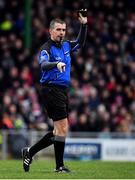 10 November 2019; Referee Brendan Griffin during the Kerry County Senior Club Football Championship Final match between East Kerry and Dr. Crokes at Austin Stack Park in Tralee, Kerry. Photo by Brendan Moran/Sportsfile
