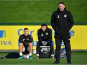 11 November 2019; Republic of Ireland assistant coach Robbie Keane during a Republic of Ireland training session at the FAI National Training Centre in Abbotstown, Dublin. Photo by Seb Daly/Sportsfile