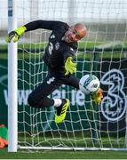 11 November 2019; Darren Randolph during a Republic of Ireland training session at the FAI National Training Centre in Abbotstown, Dublin. Photo by Seb Daly/Sportsfile