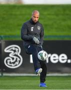 11 November 2019; David McGoldrick during a Republic of Ireland training session at the FAI National Training Centre in Abbotstown, Dublin. Photo by Seb Daly/Sportsfile