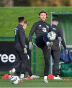11 November 2019; Jeff Hendrick during a Republic of Ireland training session at the FAI National Training Centre in Abbotstown, Dublin. Photo by Seb Daly/Sportsfile