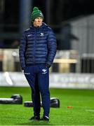 8 November 2019; Connacht head coach Andy Friend prior to the Guinness PRO14 Round 6 match between Connacht and Leinster in the Sportsground in Galway. Photo by Brendan Moran/Sportsfile