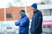 11 November 2019; Head coach Leo Cullen, right, and Scrum coach Robin McBryde during Leinster Rugby squad training at Energia Park in Donnybrook, Dublin. Photo by Ramsey Cardy/Sportsfile