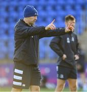11 November 2019; Contact skills coach Hugh Hogan during Leinster Rugby squad training at Energia Park in Donnybrook, Dublin. Photo by Ramsey Cardy/Sportsfile