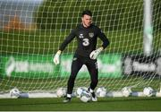11 November 2019; Kieran O'Hara during a Republic of Ireland training session at the FAI National Training Centre in Abbotstown, Dublin. Photo by Stephen McCarthy/Sportsfile