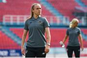 12 November 2019; Claire O'Riordan of Republic of Ireland walks the pitch prior to the UEFA Women's 2021 European Championships Qualifier - Group I match between Greece and Republic of Ireland at Nea Smyrni Stadium in Athens, Greece. Photo by Harry Murphy/Sportsfile