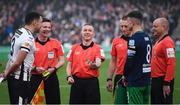 3 November 2019; Referee Derek Tomney during the extra.ie FAI Cup Final between Dundalk and Shamrock Rovers at the Aviva Stadium in Dublin. Photo by Stephen McCarthy/Sportsfile