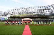 3 November 2019; General view of the Aviva Stadium prior to the extra.ie FAI Cup Final between Dundalk and Shamrock Rovers at the Aviva Stadium in Dublin. Photo by Stephen McCarthy/Sportsfile